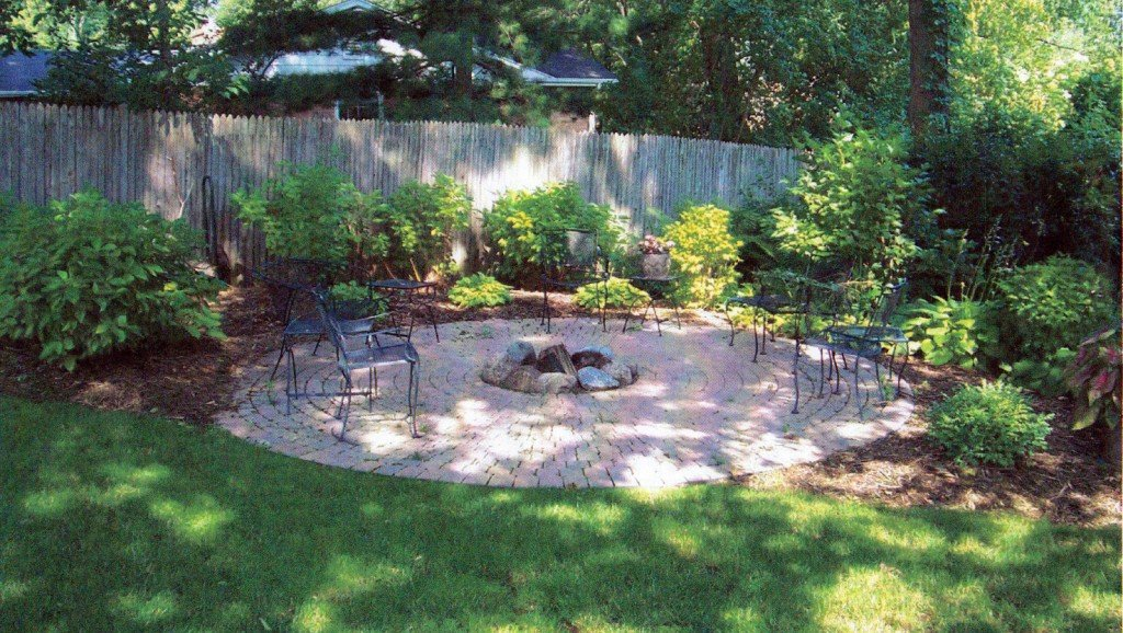 Residential Paver Patio and Landscaping Design and Installation Rockford IL Image